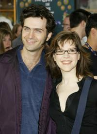 Dweezil Zappa and Lisa Lobe at the premiere of