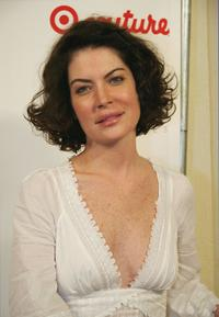 Lara Flynn Boyle at the Intuition party for the launch of the Target Couture.