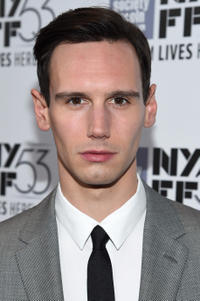 Cory Michael Smith at the premiere of 'Carol' during the 53rd New York Film Festival at Alice Tully Hall, Lincoln Center.
