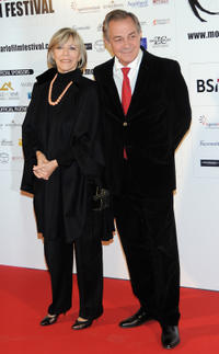 Victoria Zinny and Remo Girone at the premiere of