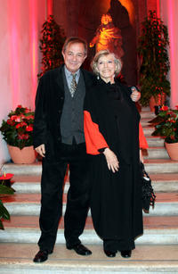 Remo Girone and Victoria Zinny at the opening Party of 4th International Rome Film Festival.