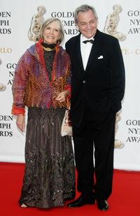 Victoria Zinny and Remo Girone at the 2007 Monte Carlo Television Festival closing ceremony.