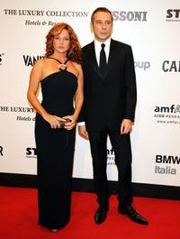 Giuliana de Sio and Guest at the amfAR's second Annual Cinema Against AIDS Rome.