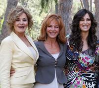 Eva Grimaldi, Giuliana de Sio and Manuela Arcuri at the photocall of