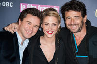 Guillaume de Tonquedec, Judith El Zein and Patrick Bruel at the Trophees Du Film Francais' 20th Ceremony in France.