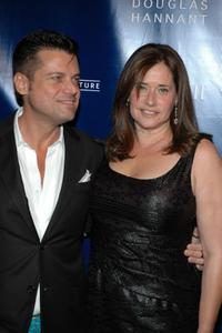 Lorraine Bracco and Douglas Hannant at the Hannant's 10th Anniversary.