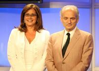 Lorraine Bracco and David Chase at the 23rd Annual Television Critics Association Awards.
