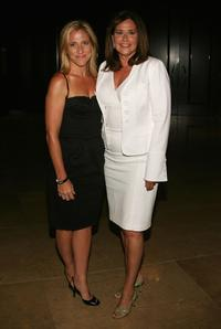 Lorraine Bracco and Edie Falco at the 23rd Annual Television Critics Association Awards.