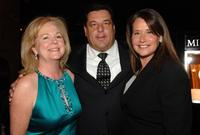 Lorraine Bracco, Susan Unagaro and Steve Schirripa at the Annual Holiday Auction and Dinner.