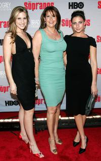Lorraine Bracco, Margaux Guerard and Stella Keitel at the HBO premiere of