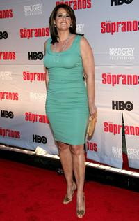 Lorraine Bracco at the HBO premiere of