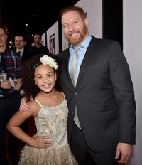 Jillian Estell and Ryan Kavanaugh at the California premiere of