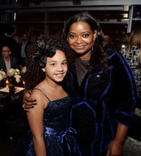 Jillian Estell and Octavia Spencer at the California premiere of