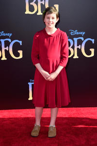 Ruby Barnhill at the California premiere of