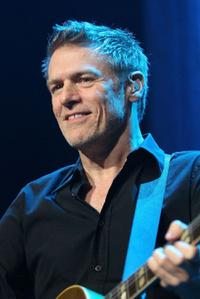 Bryan Adams at the Rod Stewart In Concert.