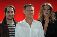 Moritz Bleibtreu, Bryan Adams and Barbara Schoeneberger at the