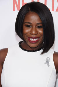 Uzo Aduba at the New York premiere of