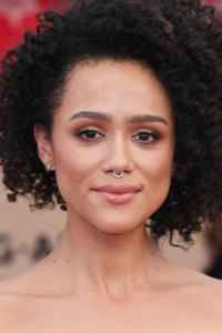 Nathalie Emmanuel at the 23rd Annual Screen Actors Guild Awards in Los Angeles.