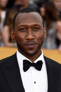 Mahershala Ali at the 21st Annual Screen Actors Guild Awards at The Shrine Auditorium.