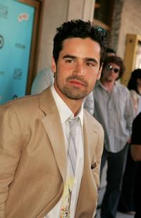 Jesse Bradford at the Los Angeles Film Festival premiere of