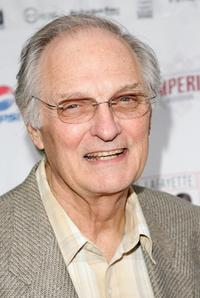 Alan Alda at the opening night of