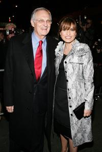 Alan Alda and Mariska Hargitay at the opening night of