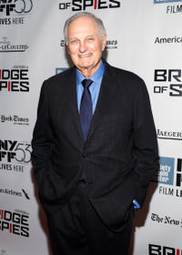 Alan Alda at the premiere of
