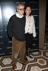 Woody Allen and wife Soon-Yi Previn at the New York screening of