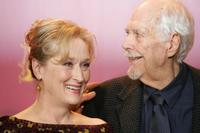 Robert Altman and Meryl Streep at the 56th Berlinale Film Festival.