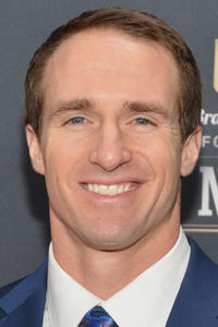 Drew Brees at the 3rd Annual NFL Honors in New York City.