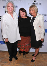 Teri Schwartz, Allison Anders and Barbara Boyle at the 2011 UCLA Festival of New Creative Work in California.