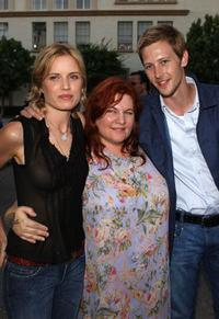 Kim Dickens, Allison Anders and Gabriel Mann at the premiere of