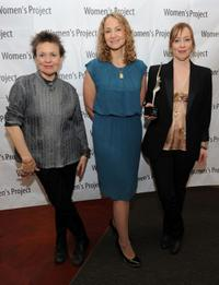 Laurie Anderson, Joan Osborne and Suzanne Vega at the Women's Project Women of Achievement Awards.