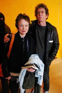 Laurie Anderson and Lou Reed at the Cinema Eye Honors presented by IndiePix.