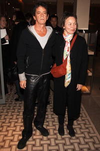Lou Reed and Laurie Anderson at the opening of Lou Reed NY photography exhibit.