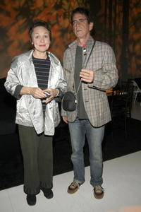 Laurie Anderson and Lou Reed at the Pre-Opening Benefit For The Watermill Center.