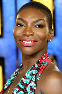 Michaela Coel at the European premiere of