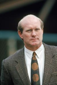 Terry Bradshaw at the 1990 NFC Divisional Playoffs game between Washington Redskins and San Francisco 49ers.