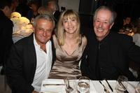 Denys Arcand, Victor Loewi and producer Denise Robert at the Toronto International Film Festival 2007.