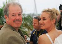 Denys Arcand and Diane Kruger at the 60th International Cannes Film Festival.