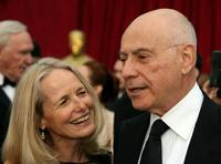 Alan Arkin and wife Suzanne Arkin at the 79th Annual Academy Awards.