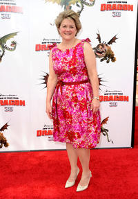 Bonnie Arnold at the premiere of