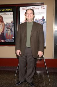David Arnott at the premiere of