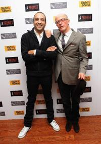 Screenwriter Abdel Raouf Dafri and Jacques Audiard at the premiere of