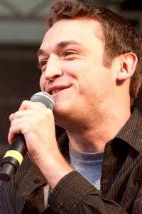Dan Soder performs at Comedy Central's Stars Under The Stars in New York City.