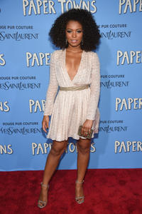 Jaz Sinclair at the New York premiere of