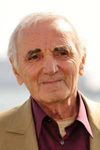 Charles Aznavour at the 62nd International Cannes Film Festival.
