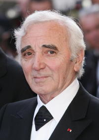 Charles Aznavour at the screening of