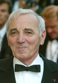 Charles Aznavour at the red carpet arrivals for the official screening of