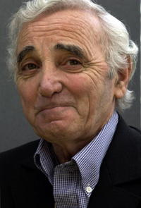 Charles Aznavour at the German translation of his autobiography
